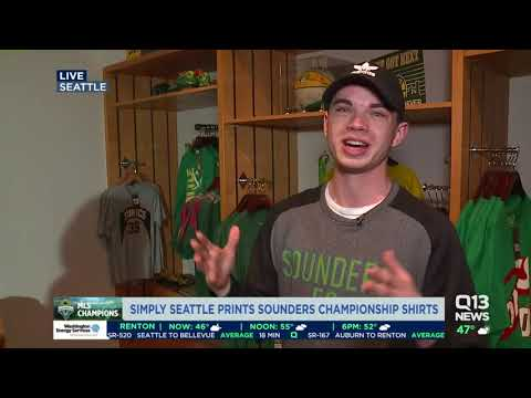 Head to Simply Seattle for Sounders FC Championship gear