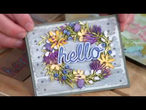 Take A Look At Tim Holtz's Alterations March 2018 Collection | Sizzix