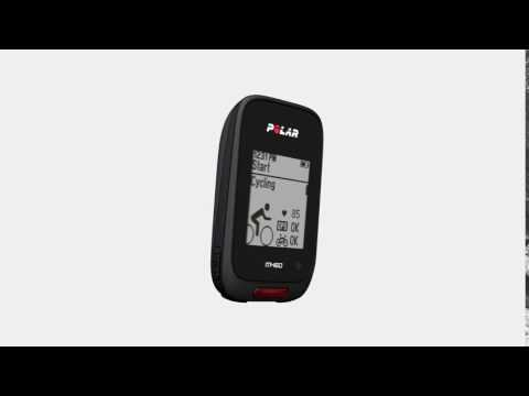 Polar M460 GPS Bike Computer - Get Started