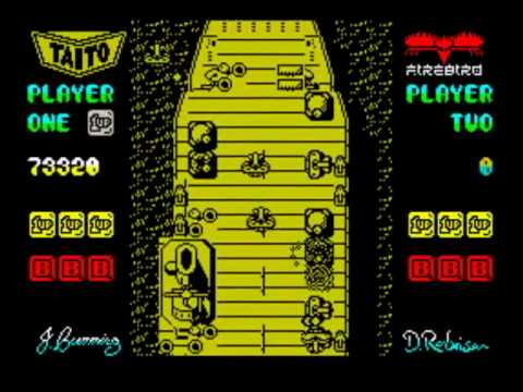 Flying Shark - ZX Spectrum Walkthrough