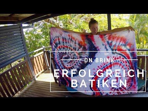 Erfolgreich batiken | Langzeitreise Australien #9