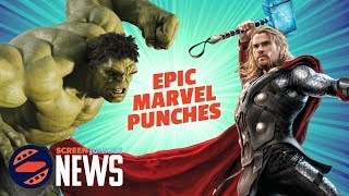(Nearly) Every Punch in the MCU - Epic Marvel Fight Montage!
