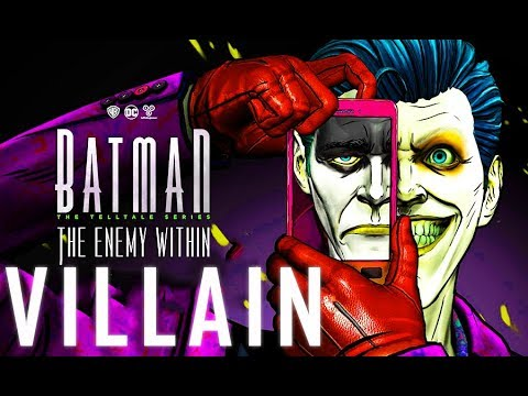 BATMAN: The Enemy Within FULL Episode 5 All Cutscenes (Villain Path) Same Stitch | Game Movie