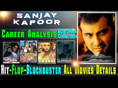 Sanjay Kapoor Box Office Collection Analysis Hit and Flop Blockbuster All Movies List.