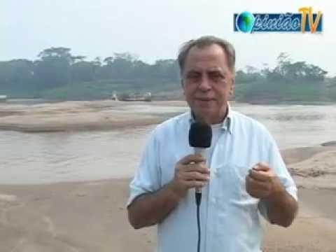 Léo Ladeia na seca de 2010 do rio Abunã-RO, fronteira com o Estado do Acre - Gente de Opinião