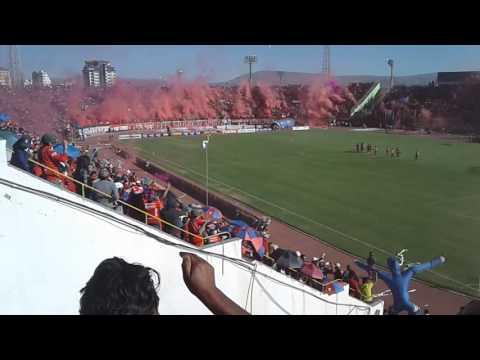 """""""RECIBIMIENTO EN EL WILSTERMANN CAMPEON 2016"""" Barra: Gurkas • Club: Jorge Wilstermann"""