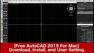 01. [Free AutoCAD For Mac] Download, Install, and User Setting.