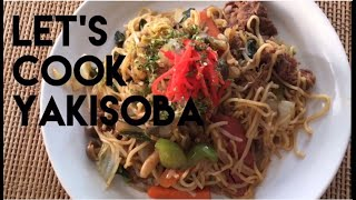 Yakisoba ~Japanese stir-fried noodles