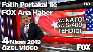 MHP Merhum Alparslan Türkeş'i Andı... 4 Nisan 2019 Fatih Portakal Ile FOX Ana Haber