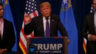 Trump in Nevada: 'I Love the Poorly Educated'