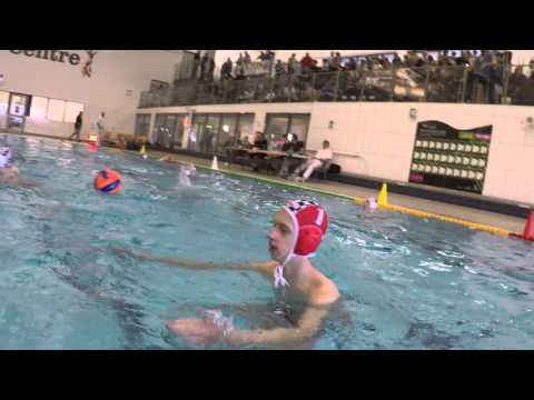 Bolton School U15s Water Polo Team Warms Up