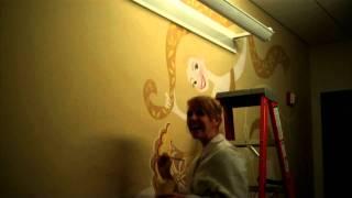 Tangled: Disney Art Department Wall Mural