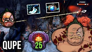 Qupe reached LVL 25 Master Tier on Pudge - 7.20 Patch EPIC Gameplay Dota 2