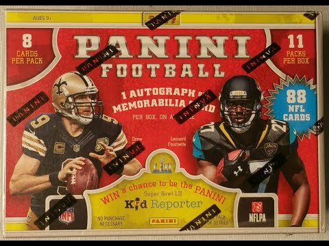 2017 Panini Football NFL football trading cards. Two numbered cards One memorabilia card!