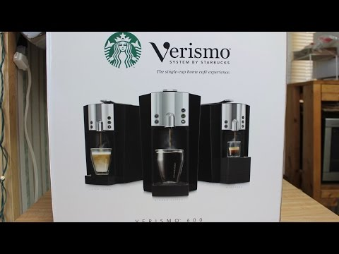 Starbuck's Verismo Coffee Maker Review and Operation