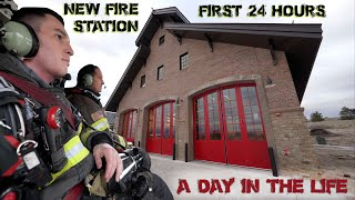 First 24 Hours in a New Fire Station - A Day in the Life