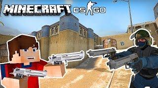 CS GO В МАЙНКРАФТЕ! - ИГРАЕМ НА КАРТЕ de_dust2   CS:GO in Minecraft! - de_dust2