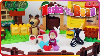 ♥ Masha and the Bear Toys Cartoon Маша и Медведь (The Golden Fish, Garden of Ice Cream...)