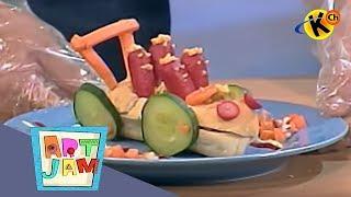 Hotdog Family Car