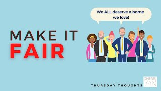 Thursday Thoughts: Fair Housing