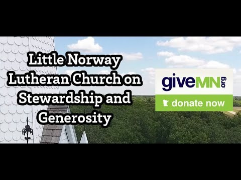 Little Norway Lutheran Church of Fertile, MN, one of the synod's congregations, reflects on what generosity means to them.