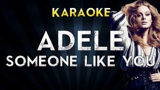 Adele - Someone Like You | Lower Key Karaoke Instrumental Lyrics Cover Sing Along