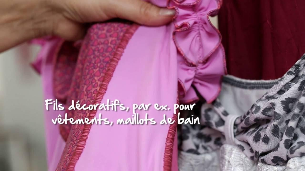 BERNINA L 450 : introduction vidéo 5/8