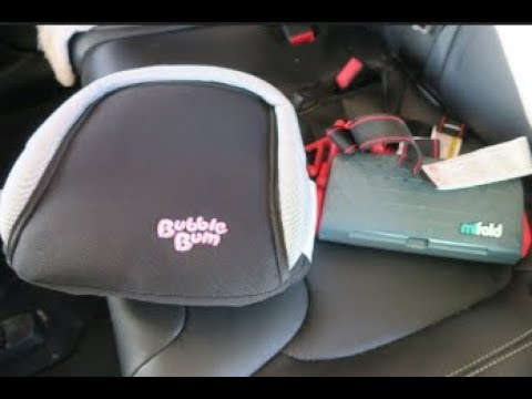 mifold & Bubble Bum TRAVEL CAR SEAT REVIEW | beingmommywithstyle