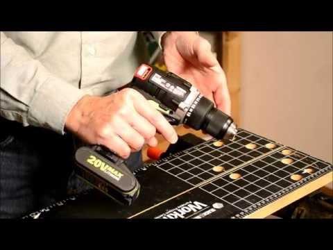 Rockwell Tools 20V RK2852K2 Drill Driver Review Video