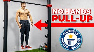 REAL No Hands Pull up Challenge (Record)