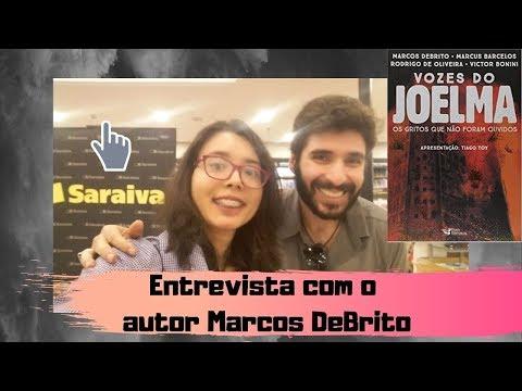 Entrevista com o escritor Marcos DeBrito    Kemiroxtv