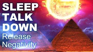Schlaf rede runter, Negativität loslassen, tiefer Entspannungszustand