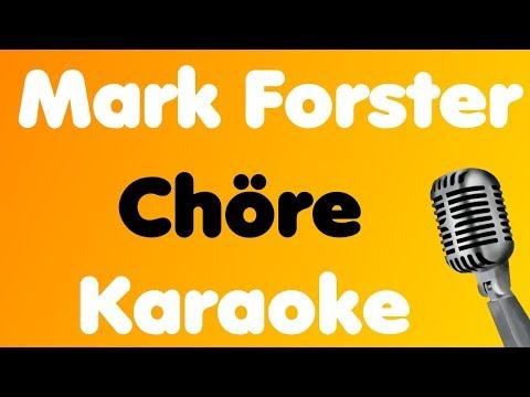 Mark Forster - Chöre - Karaoke