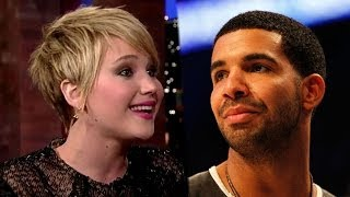 """Drake Raps About Jennifer Lawrence & Hunger Games in """"Draft Day"""" Song"""