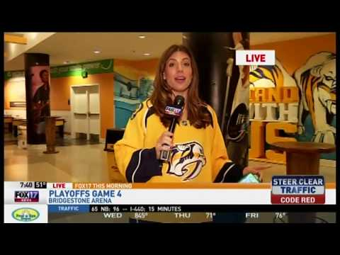 Kelly Rippin With Preds Ticket Info