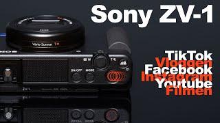 ZV-1 - Die 8 Details die Du über die Sony Video & Vlogging Kamera wissen solltest!