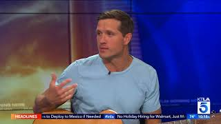 "Walker Hayes On  Inspiration for New Single ""You Broke Up with Me"" and Plays it Live On Set"