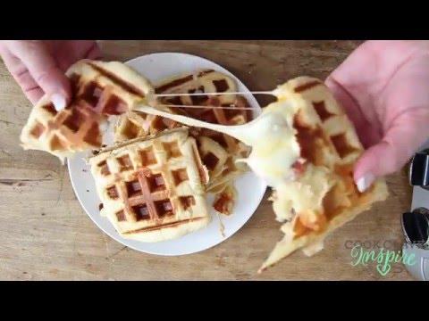 Pizza Waffles (Crescent Rolls Recipe)