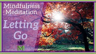 20 Minute Mindfulness Meditation for Letting Go--Symbolism of Fall