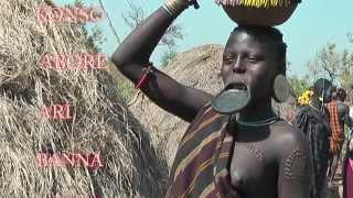 South Ethiopia-Tribal Civilization-Second Part:Mursi,Dassanech,Banna tribes-Full HD