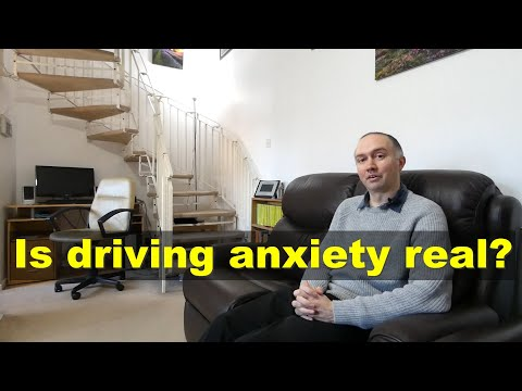 Is driving anxiety real?