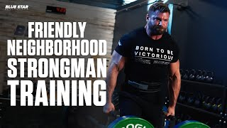 How to Train for Strongman in Your Neighborhood Gym