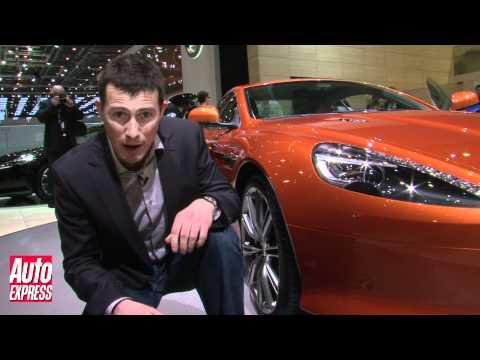 Aston Martin Virage - Geneva Motor Show - Auto Express