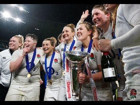 Trophy Lift: England Women are the 2019 Women's Six Nations Champions! | Women's Six Nations