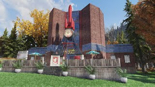 Fallout 76 Round Buildings (Tips and Tricks)