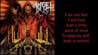 Angel Dust - Addicted to Serenity (Lyrics on Screen)