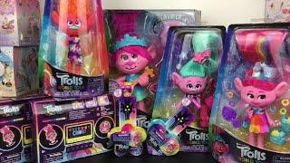 Trolls World Tour Movie Surprise Toys Fashion Dolls Pop & Rock Poppy Tiny Dancers Package Unboxing &