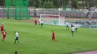 preview picture of video 'Puchar Polski 25 czerwca 2013 r., g.17.00 Hetman Zamość - CHEŁMIANKA 4:2(1:1)'