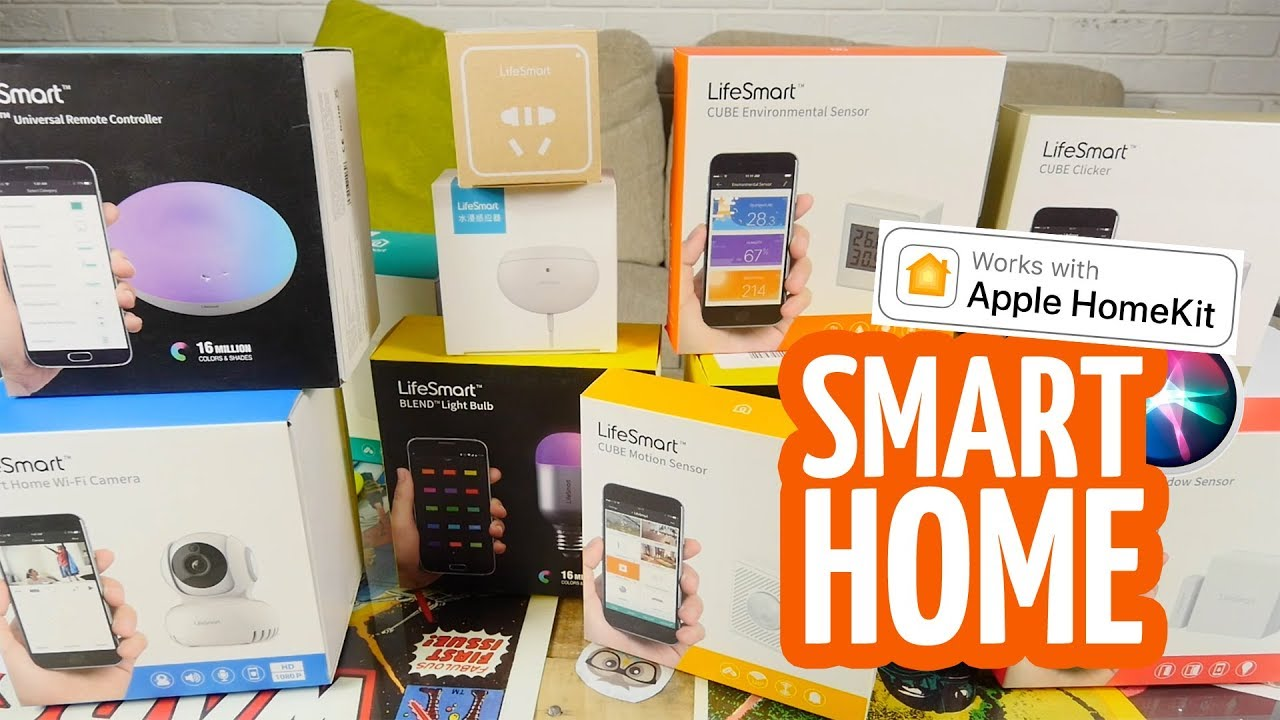 Умная кнопка LifeSmart Cube Clicker (LS069) video preview