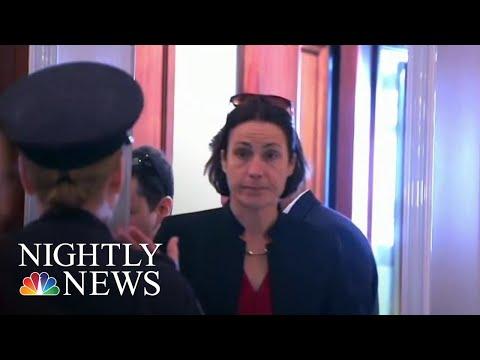 Trump's Ex-Russia Aide Testifies In Impeachment Inquiry | NBC Nightly News